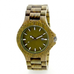 Business logo personnalisé Hot Sale Promotionnel Montre en bois