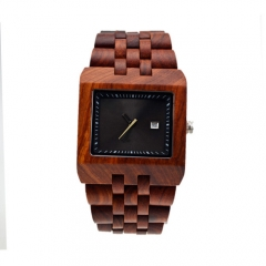 ODM / OEM Fashion Hot Sales Quartz Montre en bois pour homme