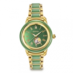 OEM retail luxury gift Chine traditionnelle Hetian jade watch