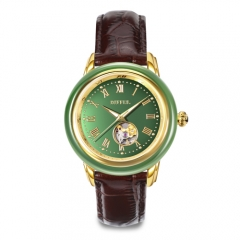 Montre chinoise traditionnelle en jade Hetian en Chine